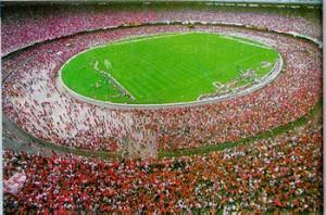 Lo stadio Maracanà di Rio de Janeiro