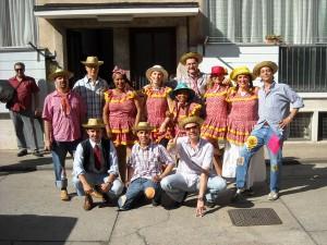 Il gruppo di Quadrilha Warã na Roça