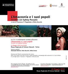 L'Amazzonia e i suoi popoli: incontro con Sydney Possuelo