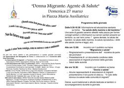Donna e Salute: il diritto alla salute degli immigrati