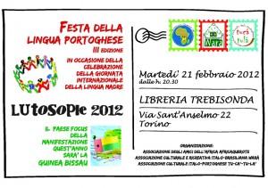Lusotopie 2012 - Festa della lingua portoghese