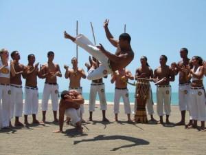 Una roda di capoeira