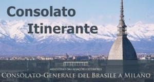 Consolato brasiliano itinerante a Torino