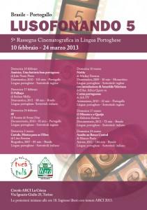 Lusofonando 2013, rassegna di film in lingua portoghese