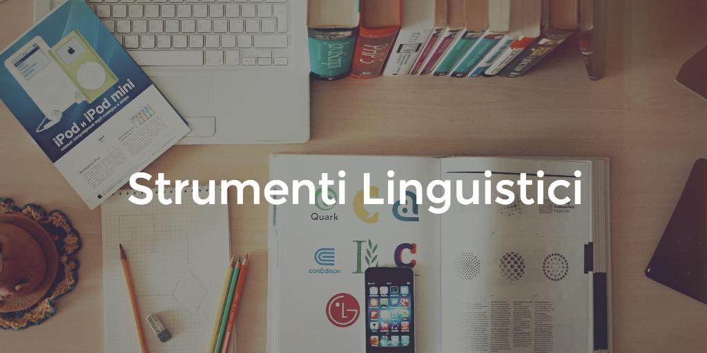 Strumenti linguistici
