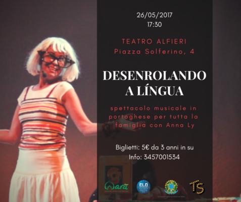 spettacolo teatrale in portoghese